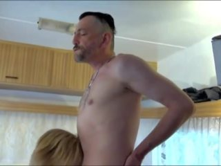 German Granny Fucked in a Camping Trailer: Free Porn 74