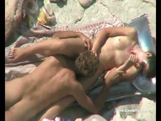 scheiß-, echt voyeur spaß, strand