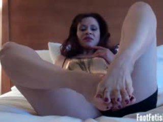 all foot fetish vid, more fetish posted, amateur video