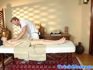 Amateur Massage Babe Doggystyled by Masseur: Free Porn 70