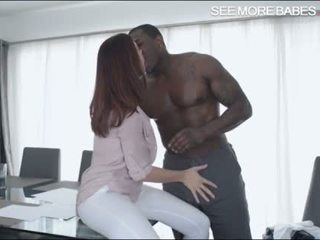 Big boobs babe Chanel Preston twat fucked by big black cock