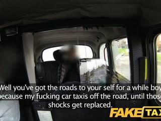 Faketaxi בריטי taxi זיון אורגיה