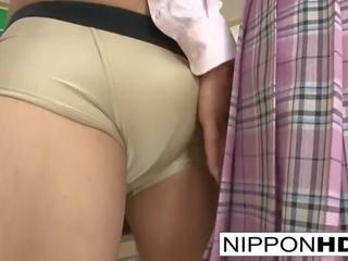 japanse, heet reverse cowgirl neuken, plezier pijpbeurt mov