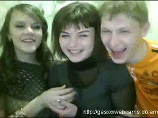Teen Babes Getting Drunk On Webcam