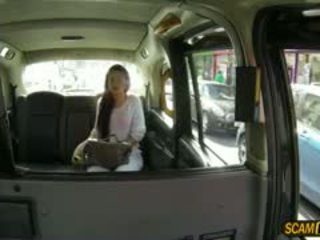 Gorgeous Sasha Trades Sex For Cab Fare