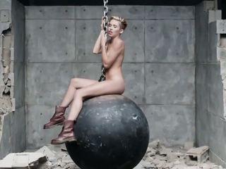 Miley Cyrus Wrecking Ball XXX Version, HD Porn 3c