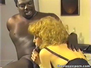 porno sterren, wijnoogst tube, interraciale