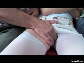 רביעיה סקס עם חזה גדול סבתא