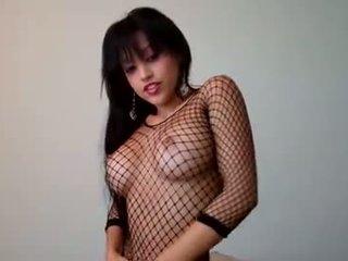 najlepšie kaukazský viac, príťažlivé solo girl sledovať, veľké prsia každý