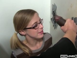 Mom Sindy Lange and Penny Pax at the BBC Glory Hole...