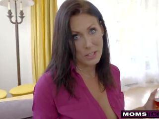 mooi brunette, realiteit, vers cumshots video-