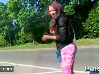 see brunette, fresh reality video, online pissing