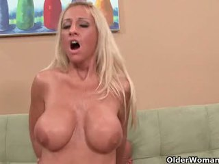 real cougar action, cum in mouth fuck, rated blowjob scene