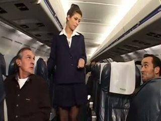 uniform seks, mooi stewardess kanaal