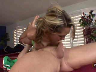 Halia hill getting banged पर the billiard टेबल
