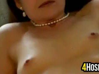 Cougar Does A Striptease