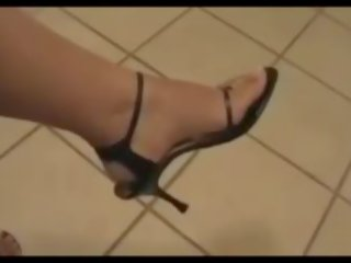 voet fetish klem, kwaliteit sexy, sexy benen mov