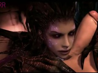 Kerrigan in game Starcraft 2 have sex