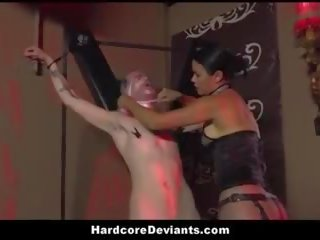 Hot MILF Dana Vespoli Humiliates Her Male Pet and Fucks