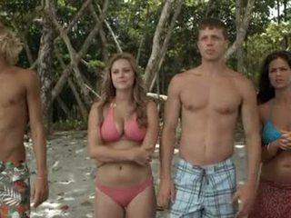 beste bikini kanaal, mooi beroemdheden film, een tiener kanaal