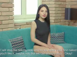 zien brunette, tieners vid, kaukasisch film