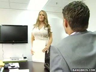 Haar goed naar zijn de secretaresse