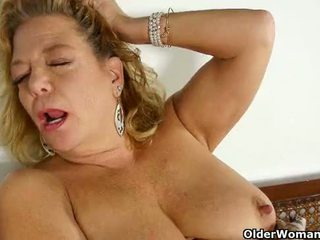 new cougar sex, gilf film, granny