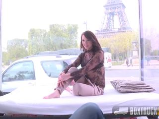 Amazing Nora Luxia Has Sex in Front of the Eiffel Tower