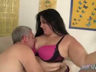 Chubby Brunette Becki Butterfly Hardcore Sex