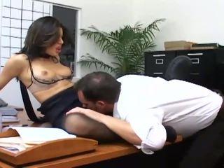 you office check, nice office sex, secretary