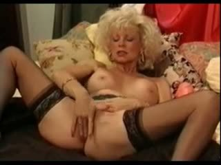 I am pierced - hot granny with pussy piercings anal dildo