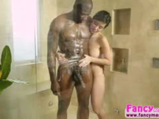 Asian And Horny Kimmy Lee Gets An Interracial Fuck With Rob