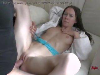 HOME ALONE TEEN GETS BRUTALLY ANAL FUCKED BY BURGLAR. MIA BANDINI