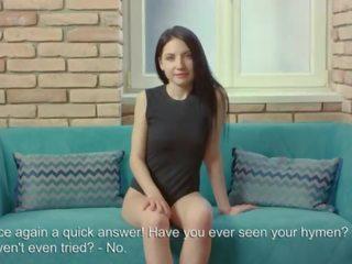 vers brunette actie, firsttime kanaal, echt eerste keer mov