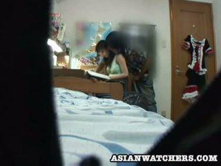 Spycam jeune écolière privé lesson 2