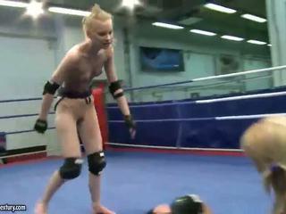 Gitta рус vs sabrina блондинки