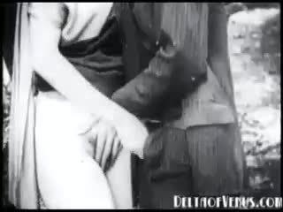 非常に 早い ビンテージ ポルノの 1915