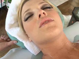 amusement baise vaginale vous, caucasien regarder, évalué vue de décharge