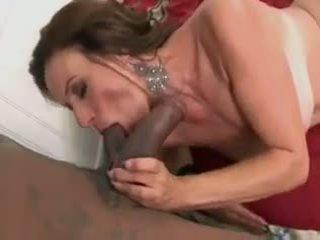 Mature Cougar MILF Sucking Fucking Big Black Cock: Porn f9