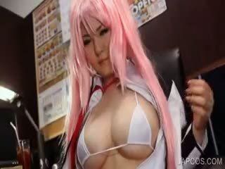Tits And Pussy Toyed In Cosplay