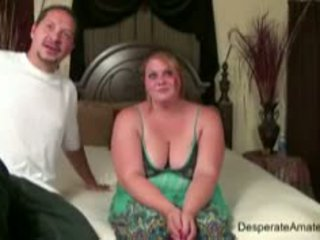 बड़े स्तन, bbw, खुशमिजाज आदमी