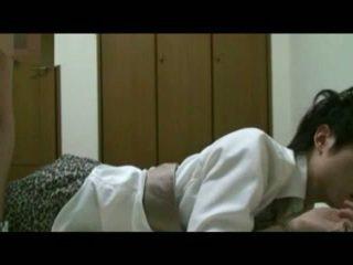 Coréen étudiant bondage