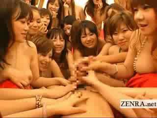 Estremo pov giapponese orgia bj e baciare orgia