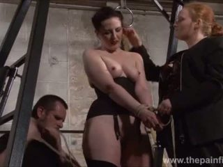 Slaaf caroline pierce whipping en strict double dominantie punishment van americ