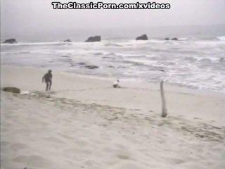 Grūti vintāža sekss par a pludmale