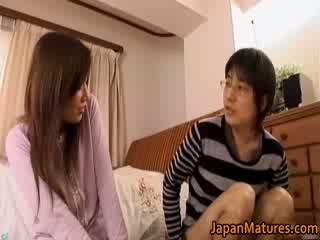 Jaapani küpsemad naine has võluv