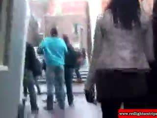 Real loira holandês pêga gets eaten fora
