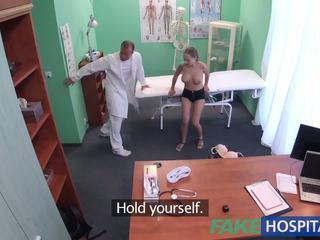 Fakehospital טוב קשה סקס עם חולה לאחר earthquake