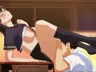 hentai, anime, moksleivė