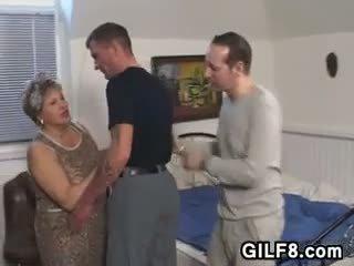 Rasva mummi sisään sukkahousut wants a mulkku